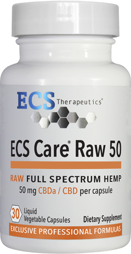 ECS Care® RAW 50mg