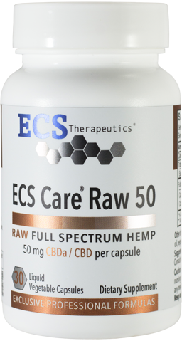 ECS Care® RAW 50mg (30 Liquid Vegetable Caps)