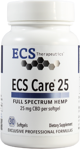 ECS Care® 25mg (30 softgels)