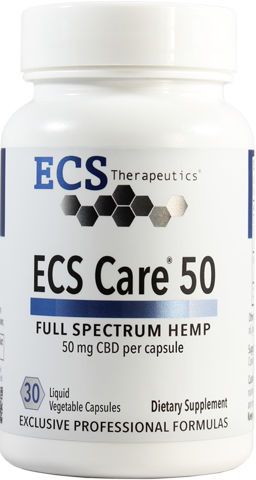 ECS Care® 50mg (30 Liquid Vegetable Caps)