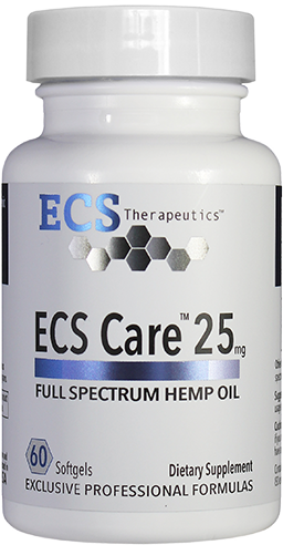ECS Care™ 25mg (60 softgels)